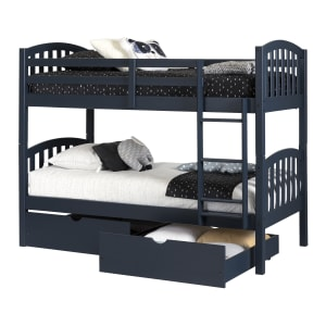 Asten - Bunk Beds and Rolling Drawers Set