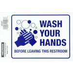 "Wash Hands Sign (4"" x 6"")"