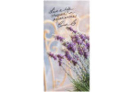 Front of steep by bigelow organic lavender chamomile herbal tea plus probiotics tea box