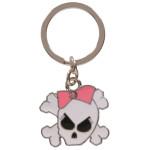 Girly Skull Key Chain