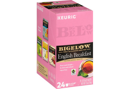 English Breakfast K-Cups - Case of 4 boxes - total of 96 kcups
