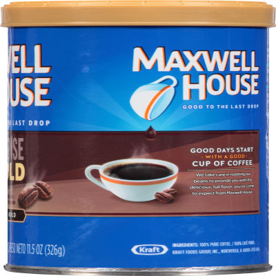 Maxwell House Intense Bold Ground Coffee, 11.5 oz Canister