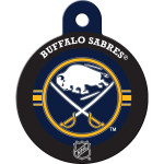 Buffalo Sabres Large Circle ID Spot Tag