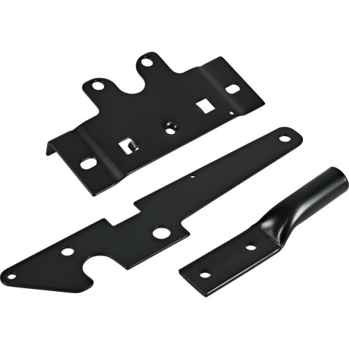 Hardware Essentials Post Mount Gate Latch Black