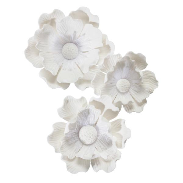 Poppy Assortment Gum Paste Flowers