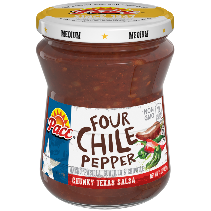 Four Chile Pepper Salsa, Medium