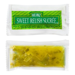 HEINZ Single Serve Relish 8ml 500 image