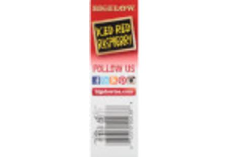 Side Panel of Iced Red Raspberry herbal Iced Tea box
