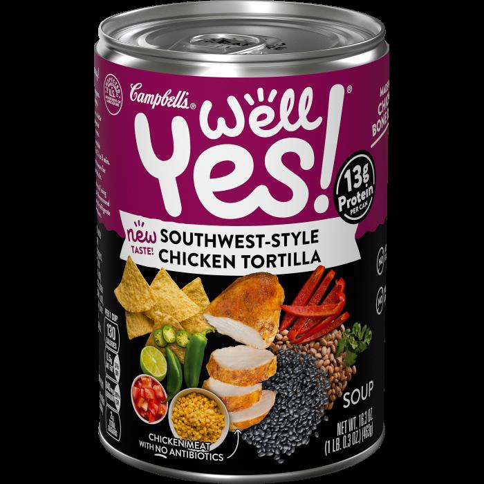 Southwest-Style Chicken Tortilla Soup