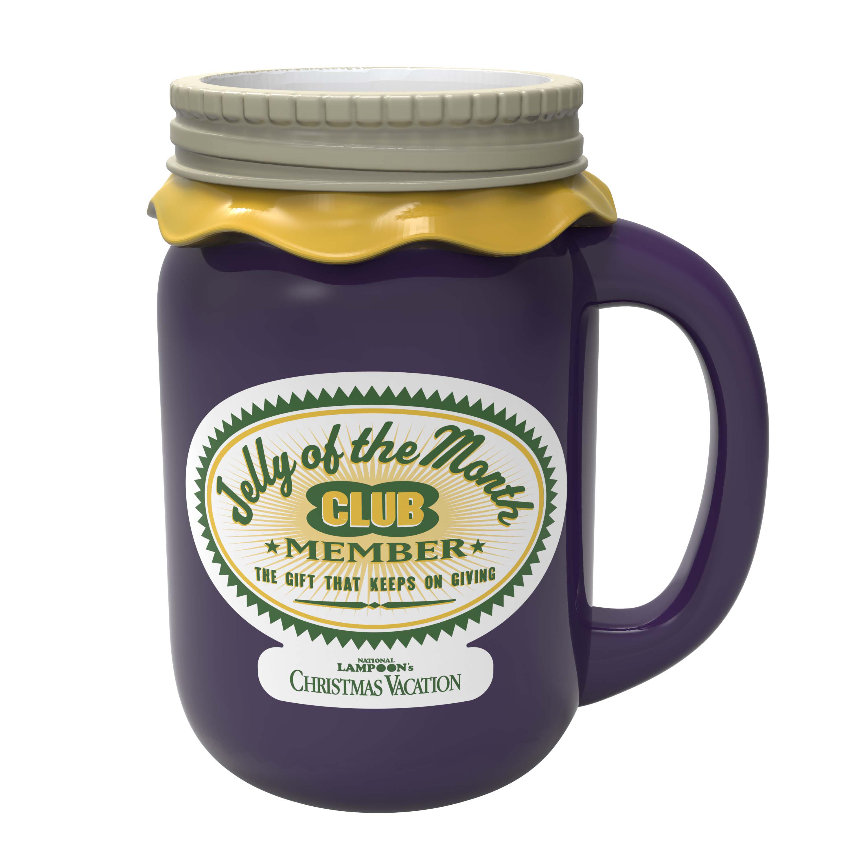 National Lampoon 10 ounce Coffee Mug, Jelly of the Month Club slideshow image 2