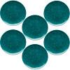 Confetti Salad Plate, Peacock, 6-piece set