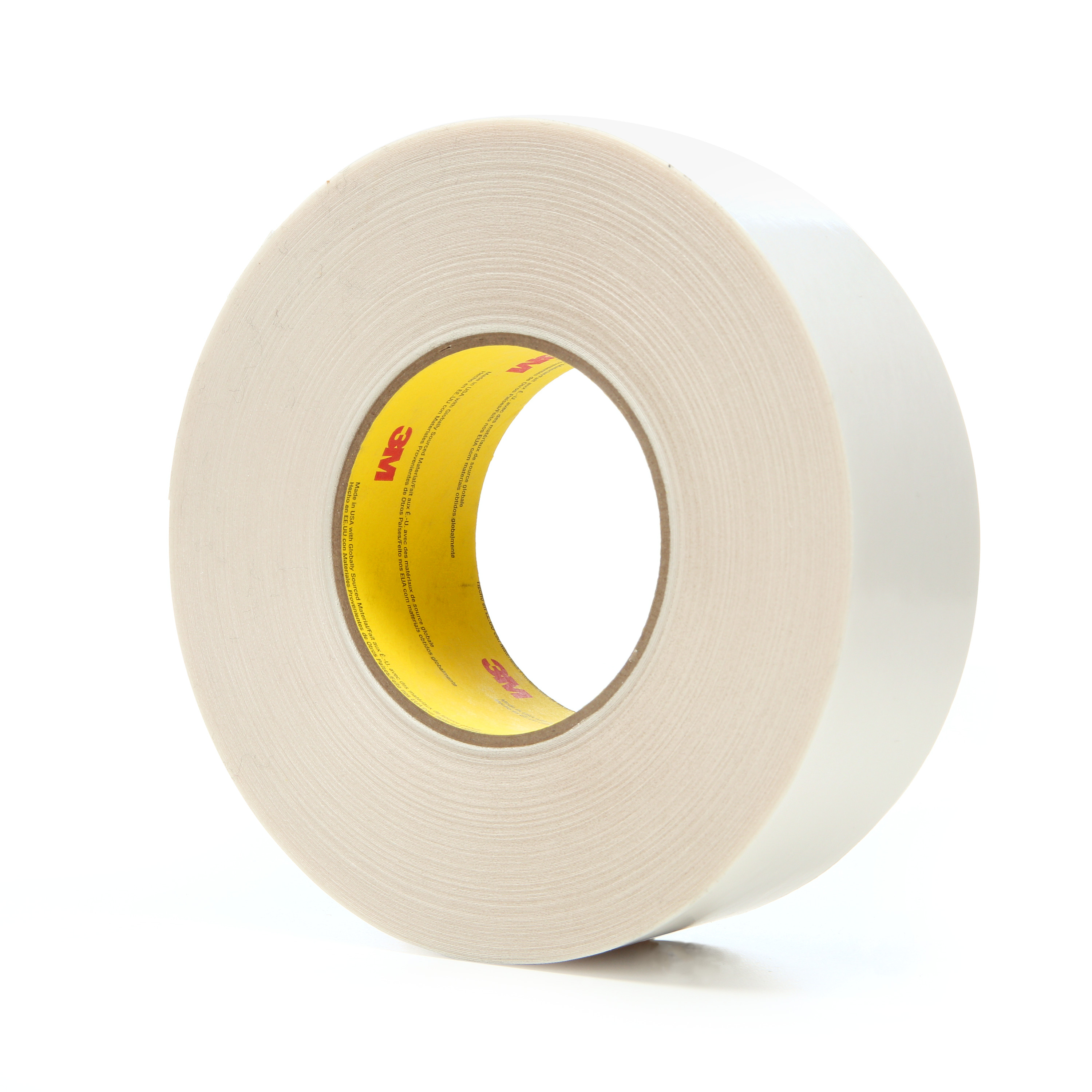 3M™ Double Coated Tape 9741, Clear, 48 mm x 55 m, 6.5 mil, 24 rolls per case