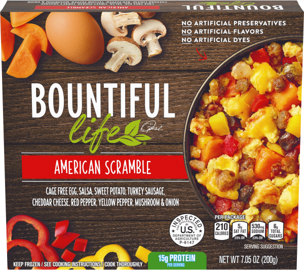 Bountiful Life American Scramble, 7.05 oz box