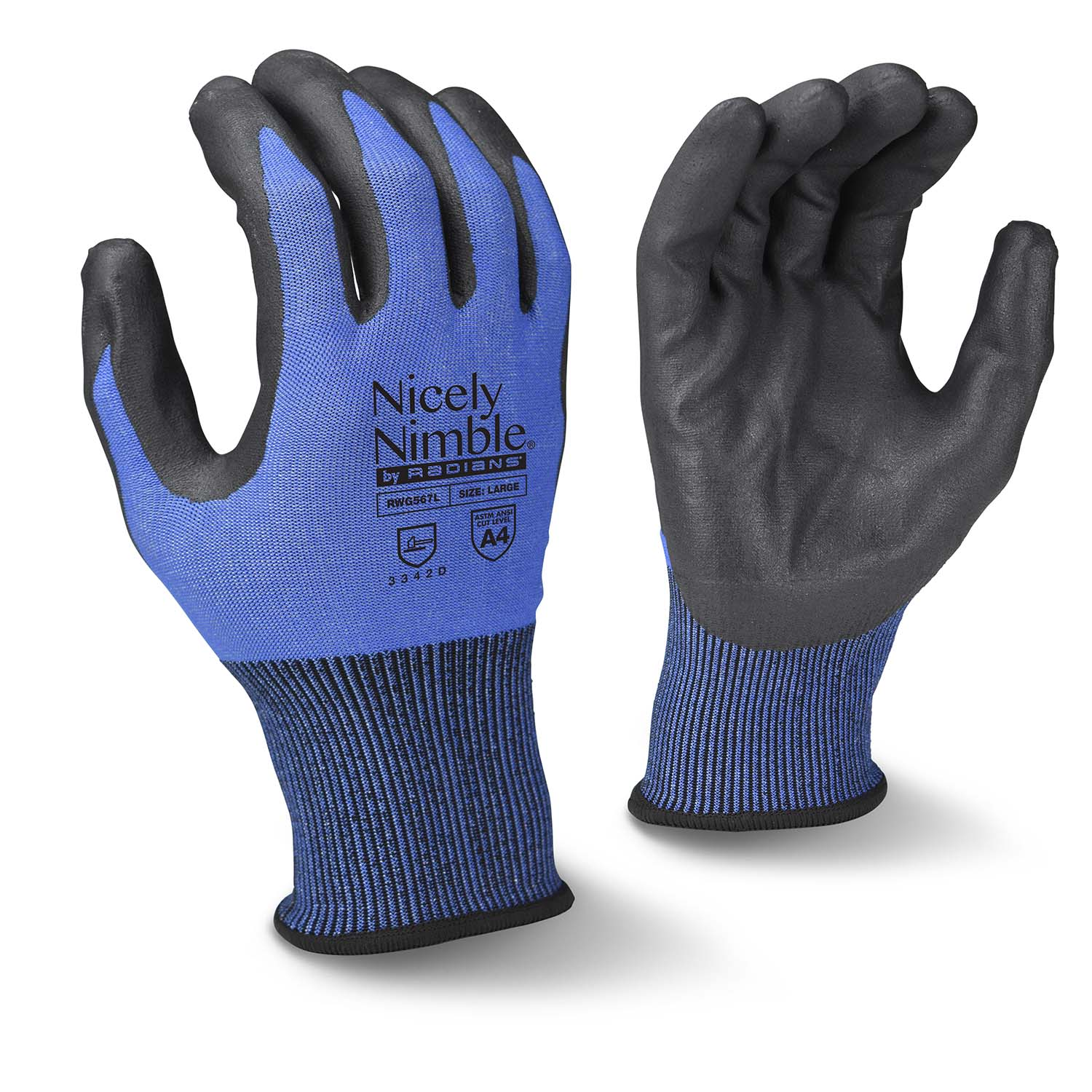 Radians RWG567 Cut Protection Level A4 Glove