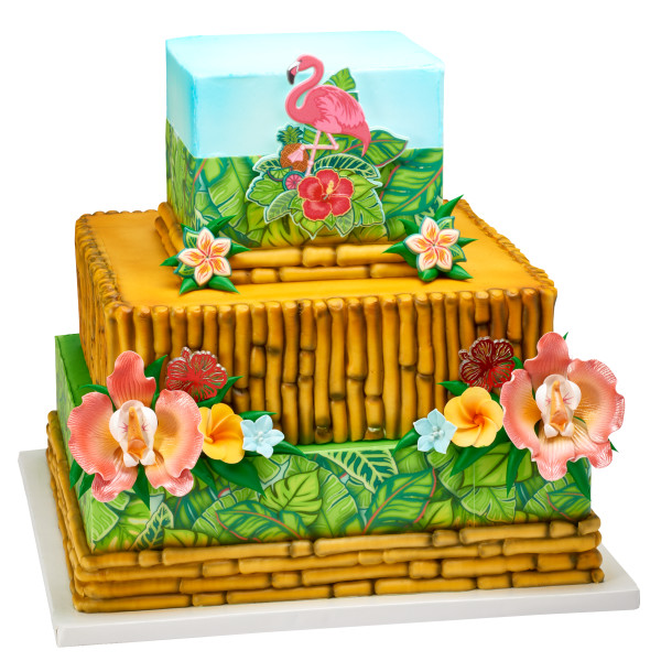 Polynesian Flair Cupcake Rings
