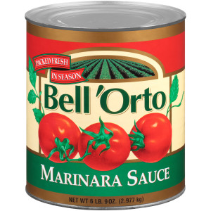 BELL ORTO Marinara Sauce, 105 oz. Can (Pack of 6) image