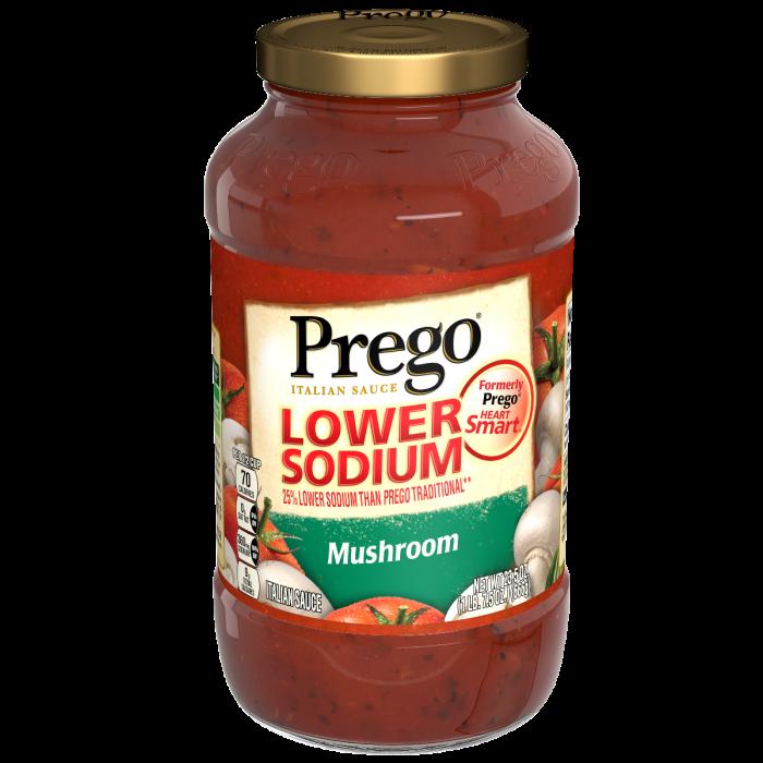Lower Sodium Mushroom Italian Sauce
