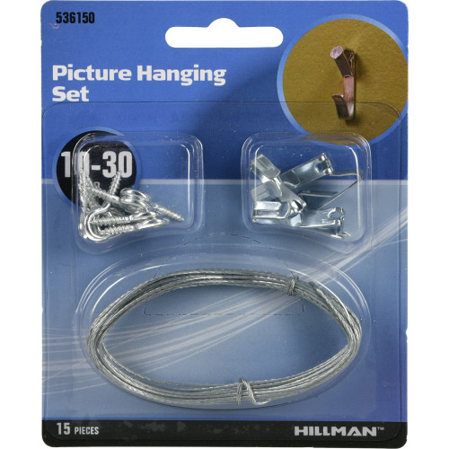 Hillman Picture Hanging Set 30lbs