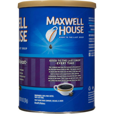Maxwell House French Roast Ground Coffee 11 oz Can