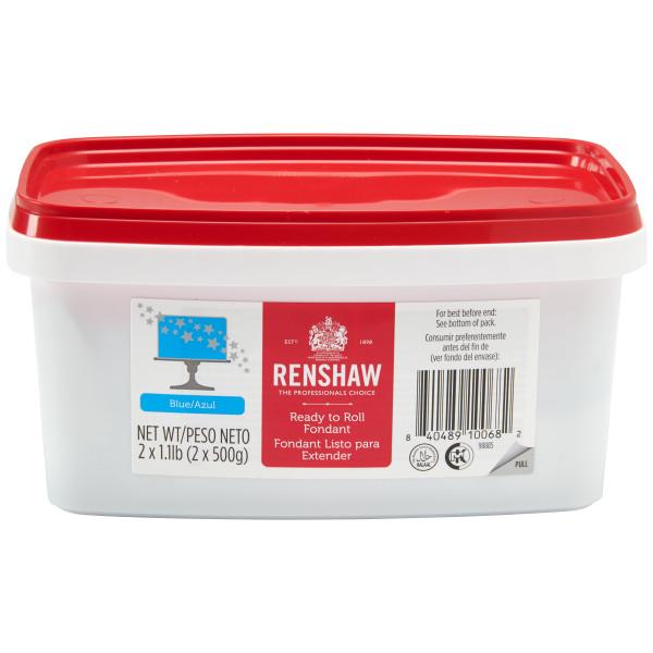 Renshaw Blue 2.2 lb. Fondant