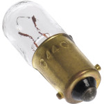 Bayonet Base Bulb for Radio & TV Indicators (6.3V x 0.25 Amp)