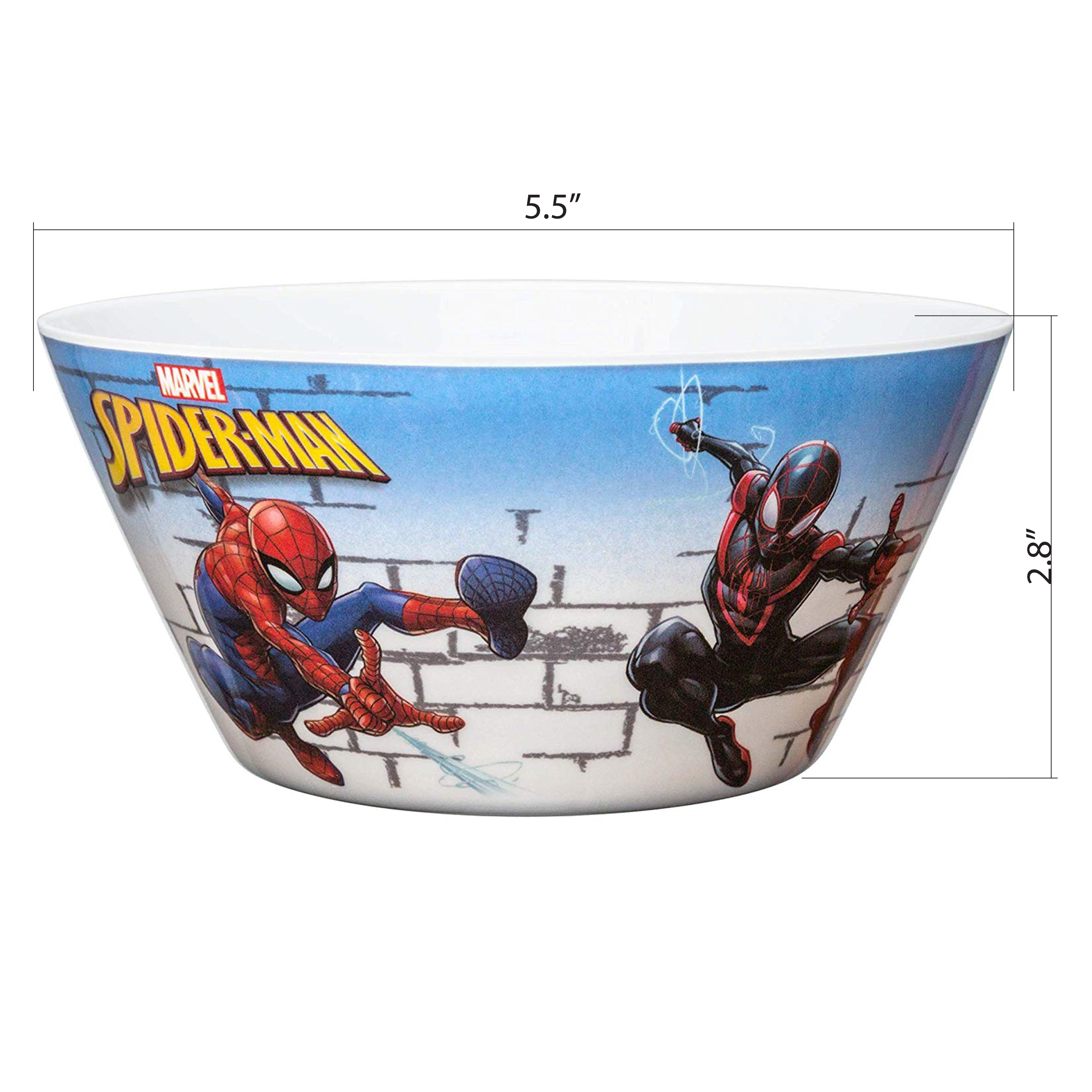 Marvel Comics Dinnerware Set, Spider-Man, 2-piece set slideshow image 7