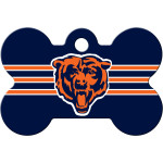 Chicago Bears Large Bone ID Spot Tag