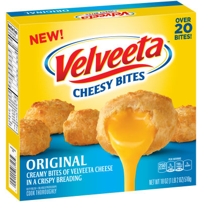 Velveeta Cheesy Bites Original 18 oz Box
