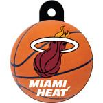 Miami Heat Large Circle Quick-Tag