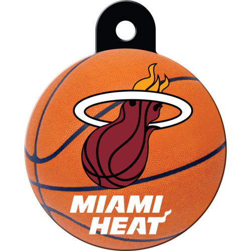 Miami Heat Large Circle Quick-Tag 5 Pack