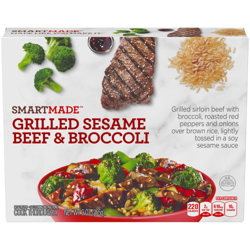 SmartMade Grilled Sesame Beef & Broccoli, 9 oz.