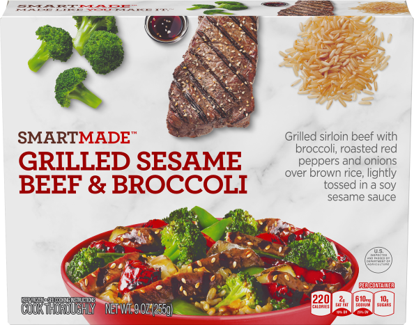 GRILLED SESAME BEEF & BROCCOLI
