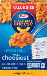 Kraft Mac & Cheese Dinner Family Value Size 14.5 oz image