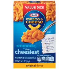 Kraft Original Flavor Macaroni & Cheese Dinner 14.5 oz Box