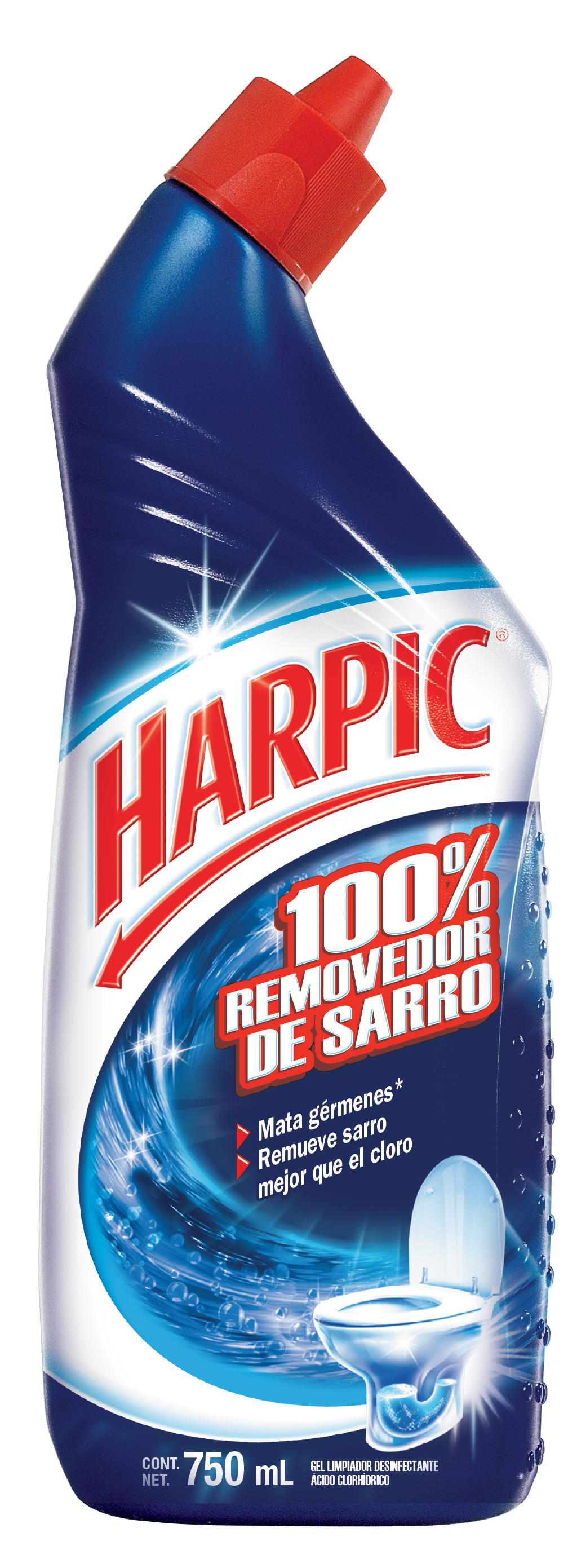 Harpic® 100% Removedor De Sarro 750ml