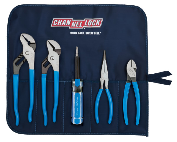TOOL ROLL-4 5pc Professional Tool Set with Tool Roll