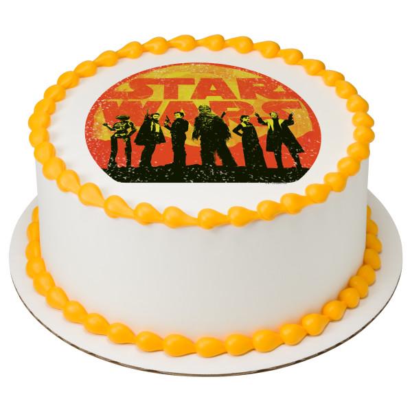 Solo: a Star Wars™ Story Scoundrel Crew PhotoCake® Edible Image®