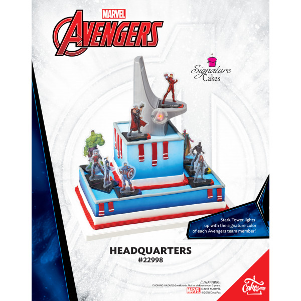 Marvel's Avengers Headquarters The Magic of Cakes® Page