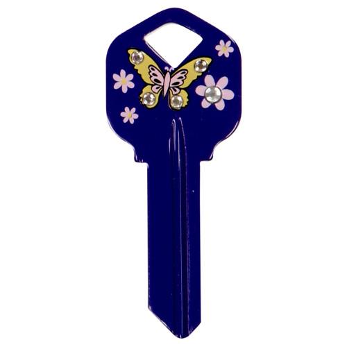 Butterfly Key Blank Kwikset/66 KW1
