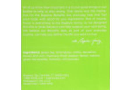 Bottom of Keurig Bigelow Beneifts Turmeric Chili Matcha Green Tea  K-Cups box of 10