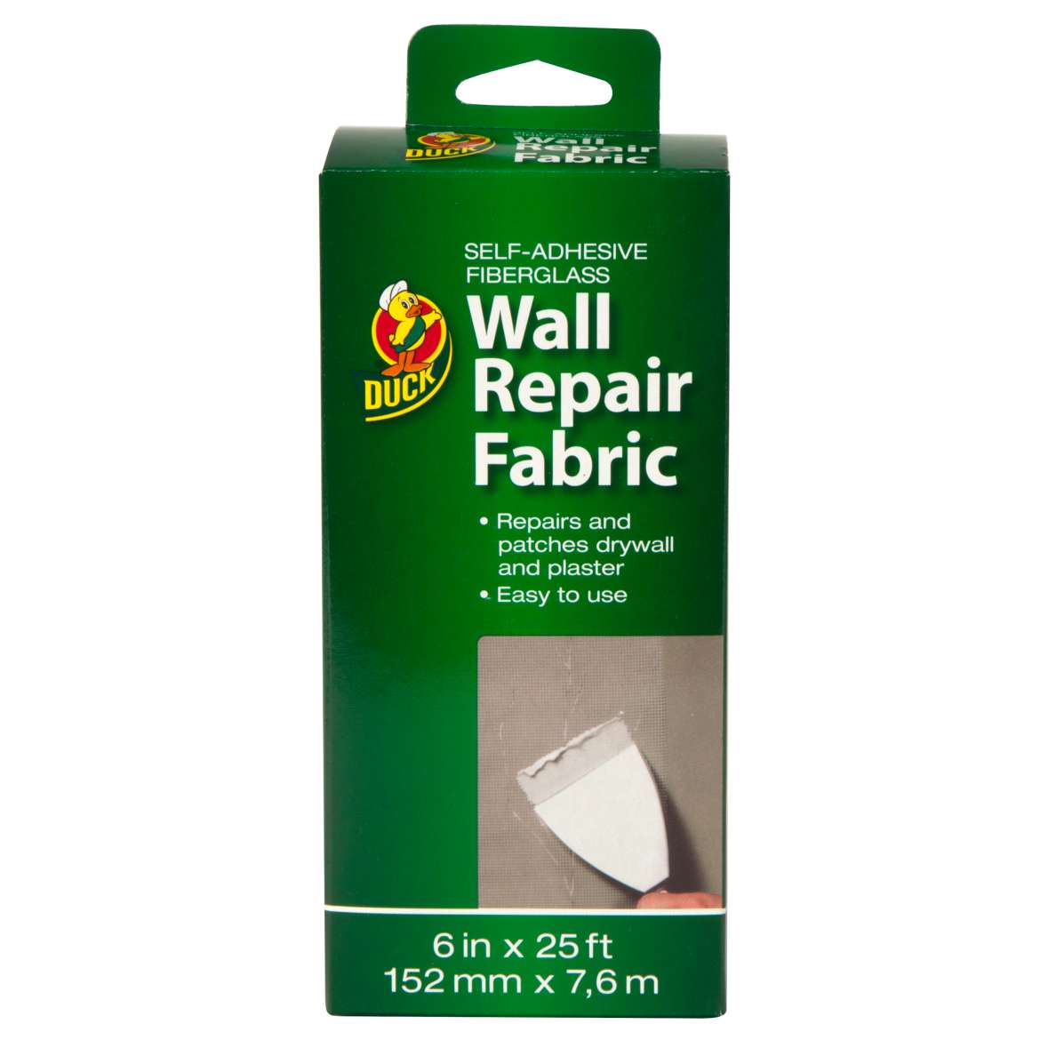 Duck® Brand Wall Repair Fabric, 6 in. x 25 ft. Image