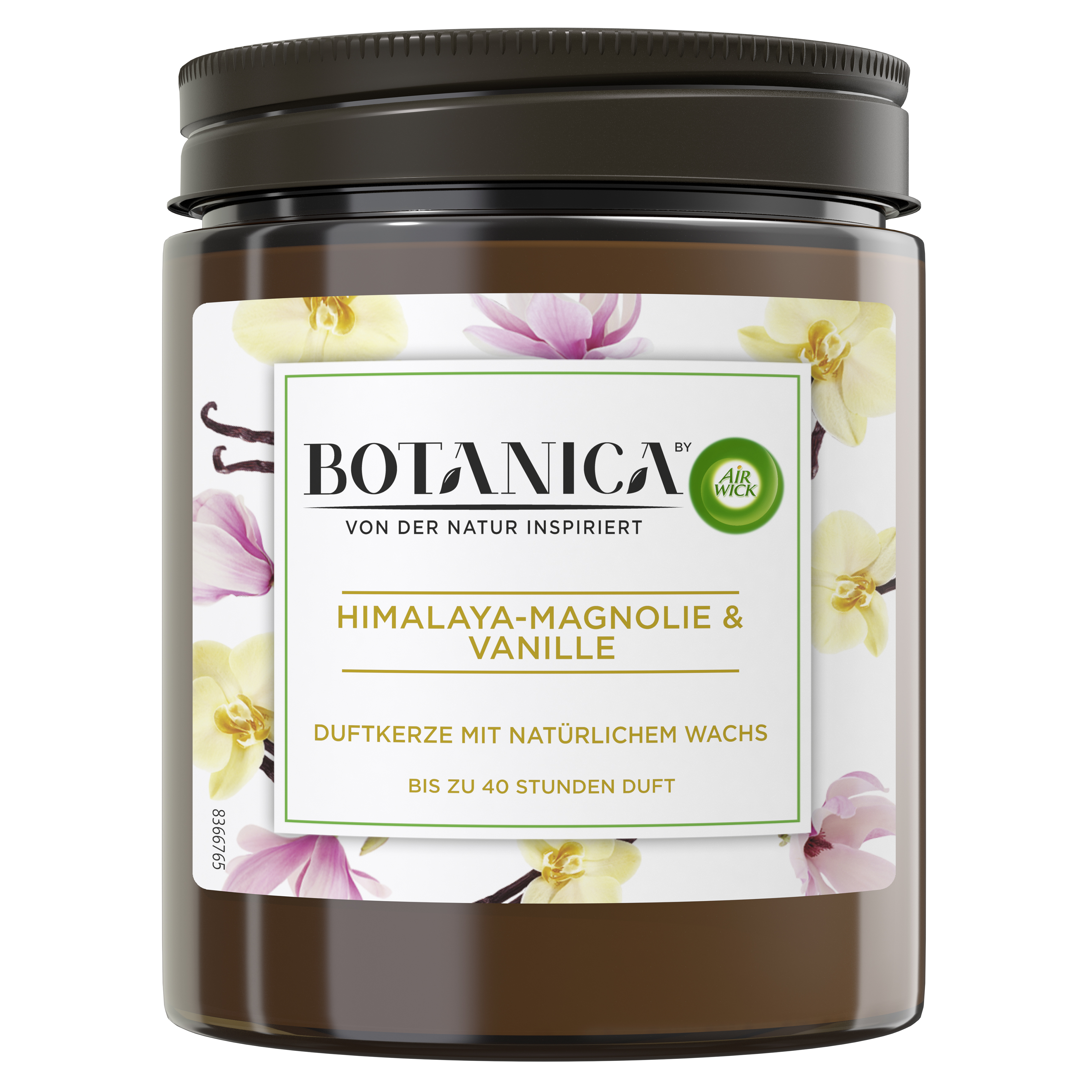 Air Wick Botanica Duftkerze Himalaya-Magnolie & Vanille