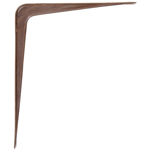 Hardware Essentials Shelf Bracket Fruitwood (5