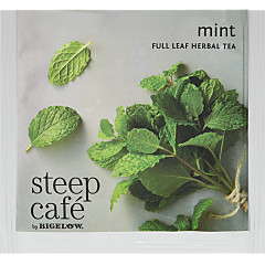 steep Café Mint Herbal Tea - Box of  50 pyramid tea bags