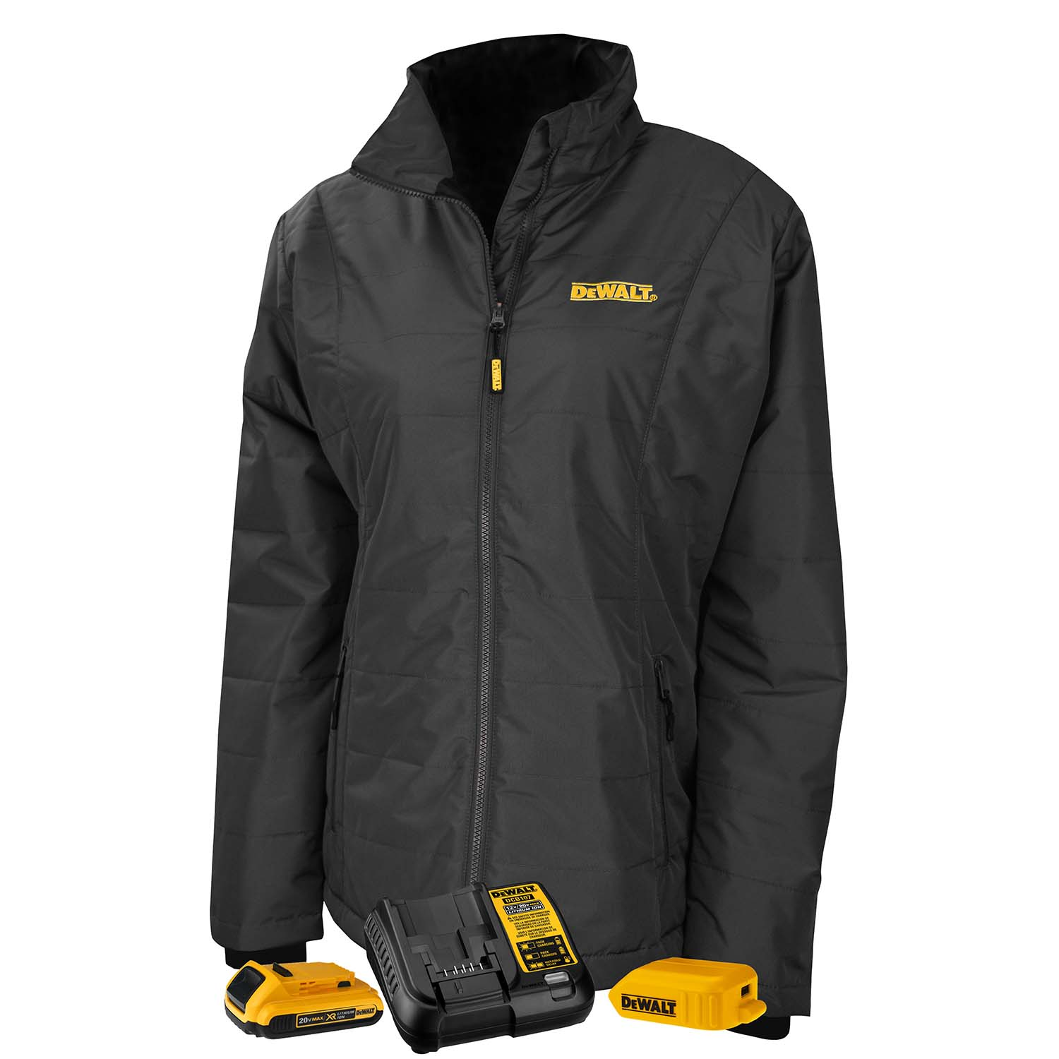 DEWALT® Women's Heated Quilted Coat Kitted