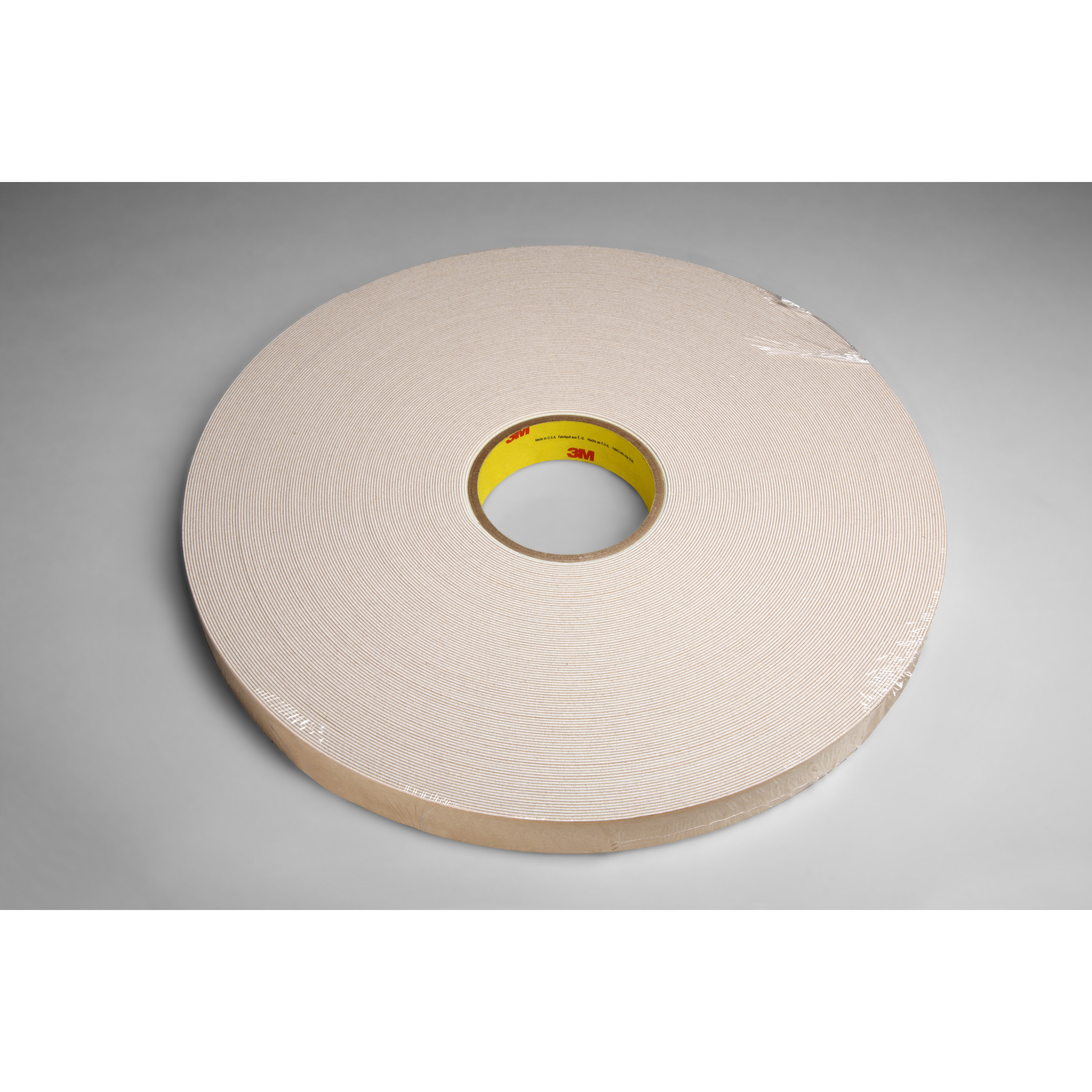 3M™ Double Coated Urethane Foam Tape 4085, Natural, 3/4 in x 72 yd, 45 mil, 12 rolls per case