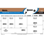 Class 10.9 Metric Flange Bolts & Nuts Assortment (M16-2.00 Thread)