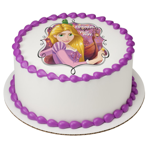 Disney Princess Rapunzel Dream Big PhotoCake® Edible Image®