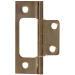 Hardware Essentials Surface Mount Non-Mortise Hinges Fixed Hinge