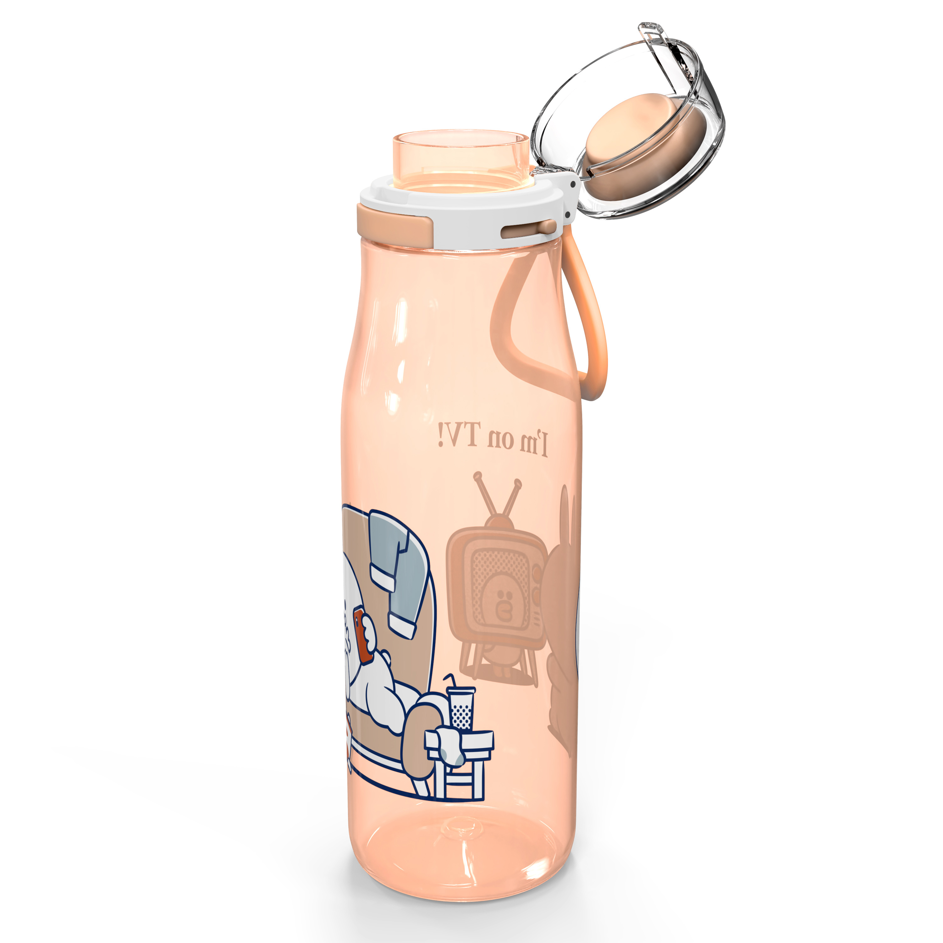 Line Friends 25 ounce Water Bottle, Conny and Sally slideshow image 5